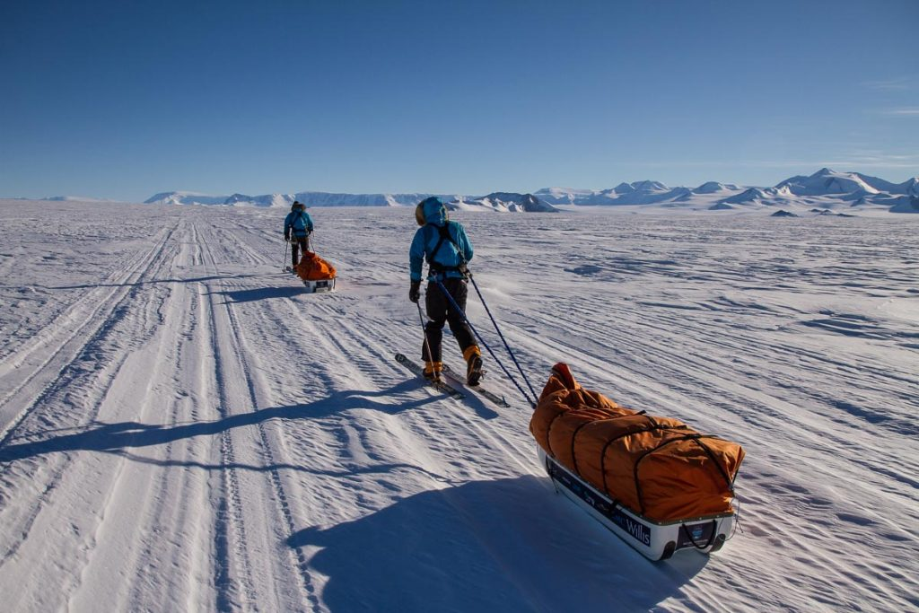 Setting off to the South Pole by Expedition Photographer Paddy Scott