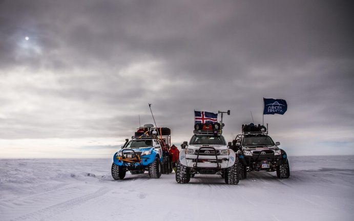 Arctic Trucks by Expedition Photographer Paddy Scott