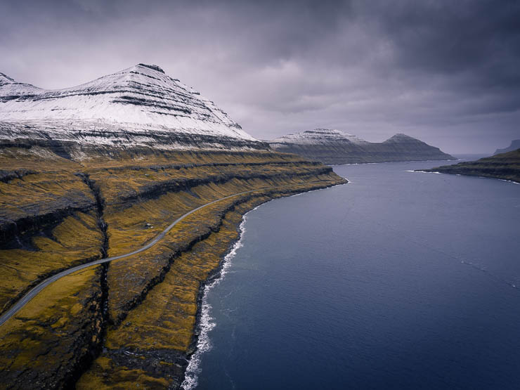 Drone Shot - Faroe Islands