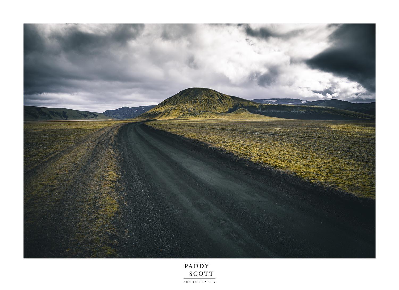 Follow the Black Lava Road