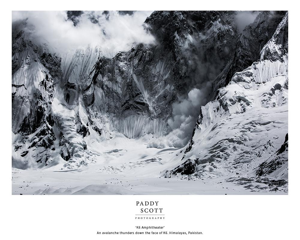 K6 Avalanche Fine Art Print