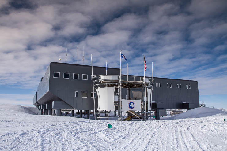 South Pole Station - Antarctica, by Expedition Cameraman & Photographer