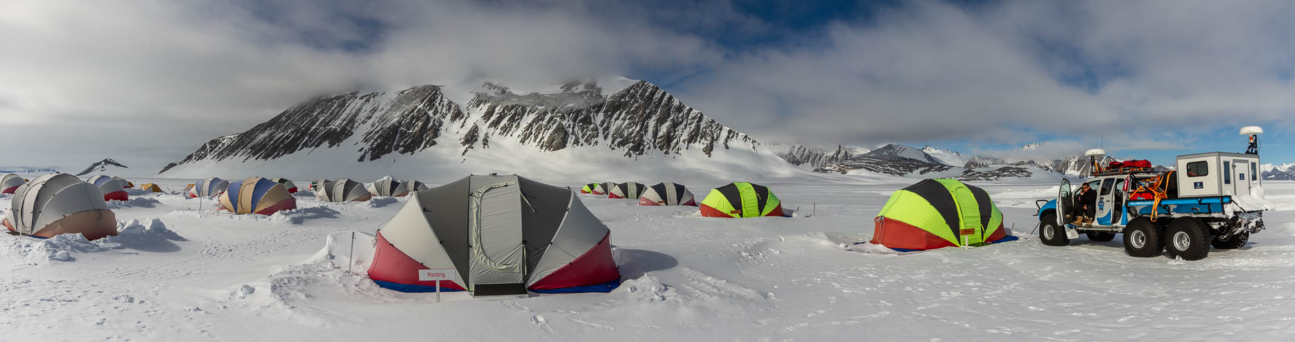 Union Glacier Camp - Antarctica