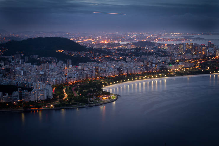 Rio at Night - Settings for Landscape Photography
